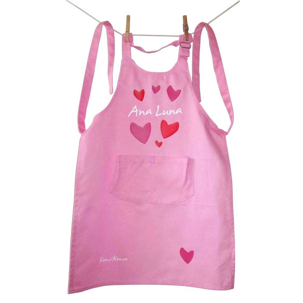 Delantal Infantil Love Personalizado para Ana Luna