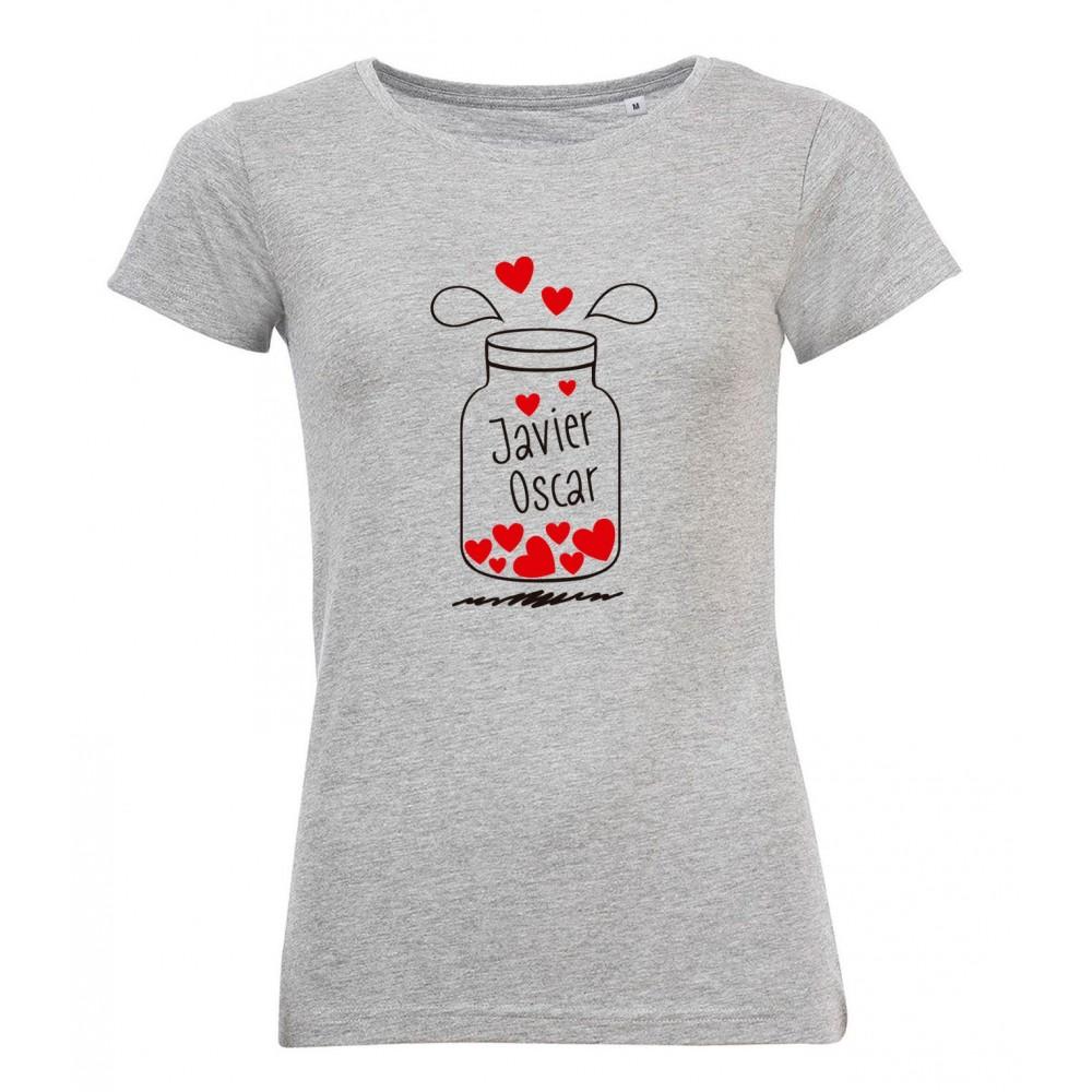 Camiseta Frasco de Galletas Mujer para el Día de la Madre