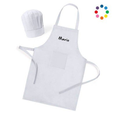 Personalized Children's Apron and Hat Cheap