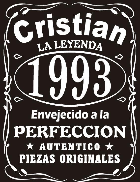 Camiseta Hombre personalizada La Leyenda